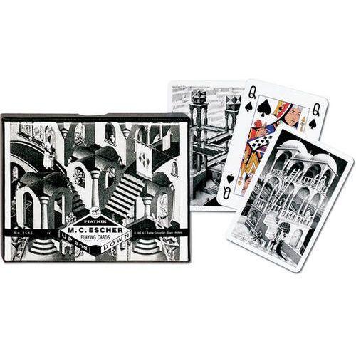 M.C. Escher. W górę i w dół karty do gry - Piatnik (9001890253645)
