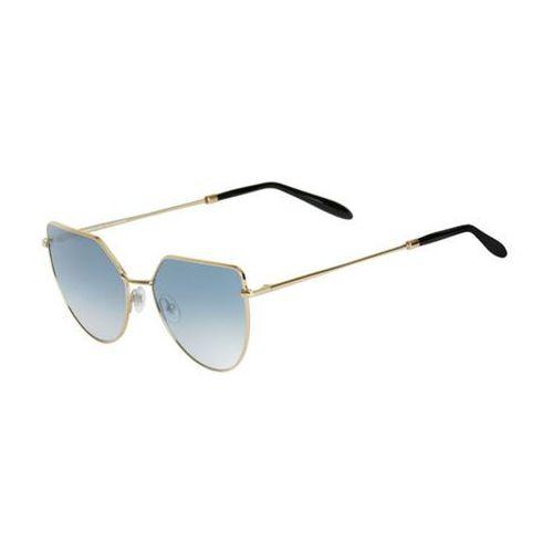 Okulary słoneczne off shore 1 os01aft/gold glossy (gradient silver) marki Spektre