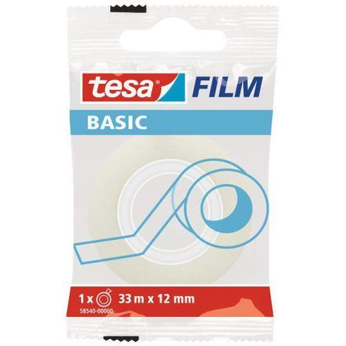 Taśma klejąca film basic 15mmx33m transparentna 58542 marki Tesa