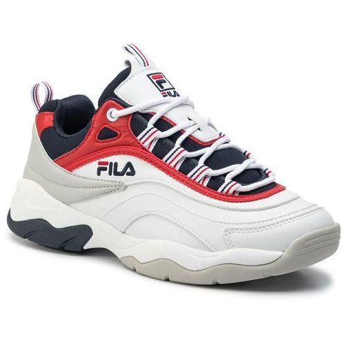 Sneakersy - ray cb low 1010723.150 white/fila navy/fila red marki Fila