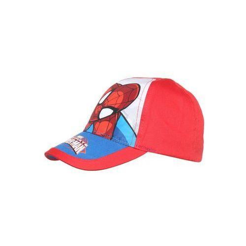 Marvel Czapka z daszkiem racing red, kolor czerwony