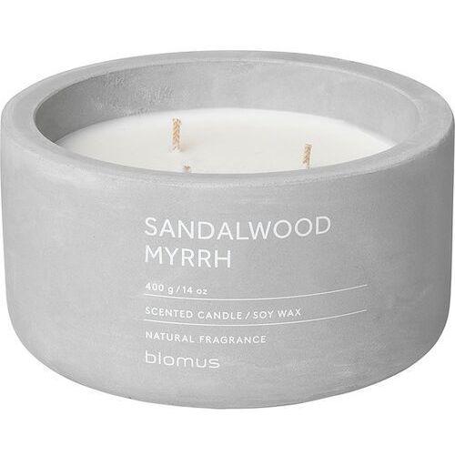 Blomus Świeca zapachowa fraga sandalwood myrrh 13 cm (4008832775499)
