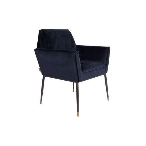 Dutchbone fotel kate granatowy 1200154 (8718548036932)