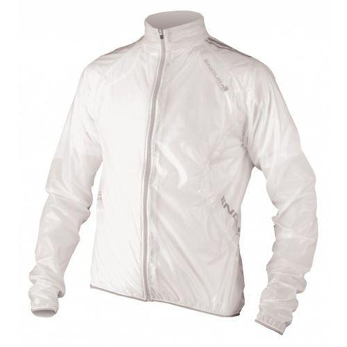 Endura FS260-Pro Adrenaline Race Cape Kurtka Mężczyźni biały XL Kurtki przeciwdeszczowe