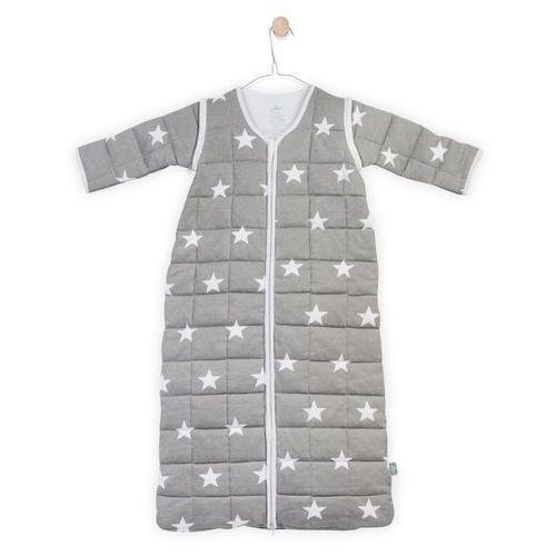 - śpiworek do spania z odpinanymi rekawkami szary little star, 18-36 m-cy, 110 cm marki Jollein