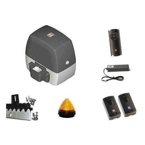 ZESTAW: napęd LineaMatic P seria 3 (do 500 kg, do 8 metrów) + pilot HS 5 BS (z funkcją sprawdzania statusu bramy) + lampka LED SLK + fotokomórki + listwa zębata