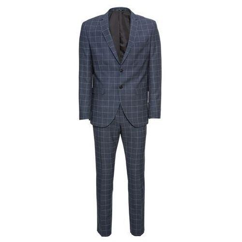 SELECTED HOMME Garnitur 'Myloair Check Suit B Ex' ciemny niebieski