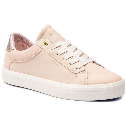 Sneakersy - baltimore 18531440 silver pink g584, Gant