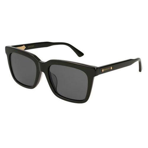 Okulary słoneczne gg 0267sa asain fit 001 marki Gucci