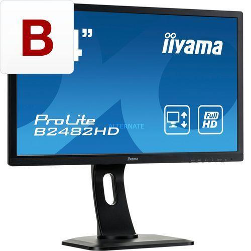 Iiyama B2482HD, pobór mocy 24W