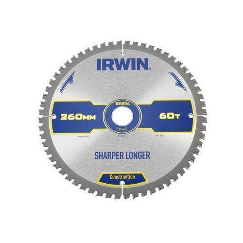 Tarcza do pilarki tarczowej 260MM/60T M/30 śr. 260 mm 60 z IRWIN CONSTRUCTION