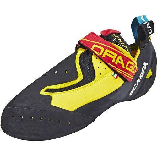 drago but wspinaczkowy żółty/czarny 40 2018 buty wspinaczkowe wsuwane marki Scarpa