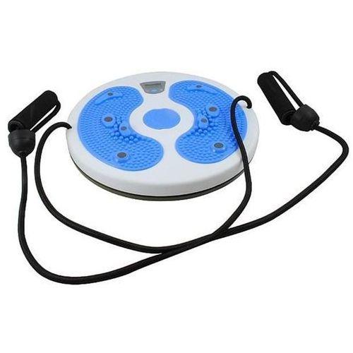 Twister trimmer obrotowy z lcd + linki niebieski marki Malatec