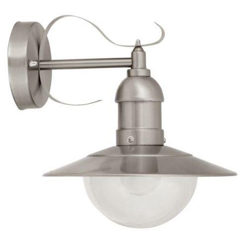 Kinkiet lampa elewacyjna oslo 8270 zewnętrzna oprawa ogrodowa rustykalna ip44 stal nierdzewna przezroczysta marki Rabalux