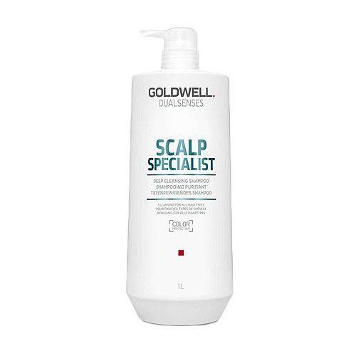 deep cleansing, szampon oczyszczający do każdego rodzaju włosów 1000ml marki Goldwell