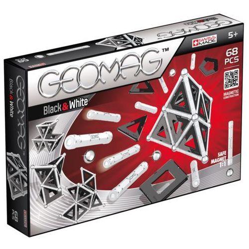 Geomag Klocki magnetyczne Black & White 68