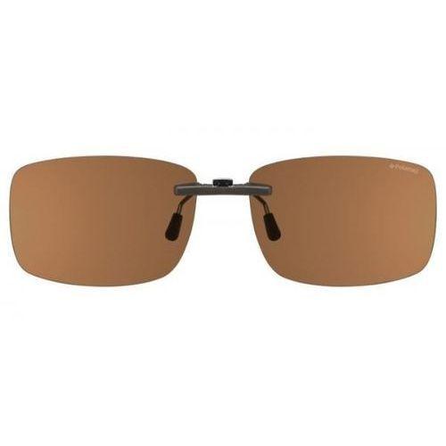 Okulary słoneczne pld 1001 clip-on polarized upw/he marki Polaroid