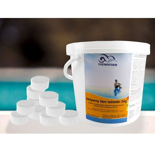 Chemia basenowa Aktywny tlen tabletki tlenowe 5 kg (5902921961789)