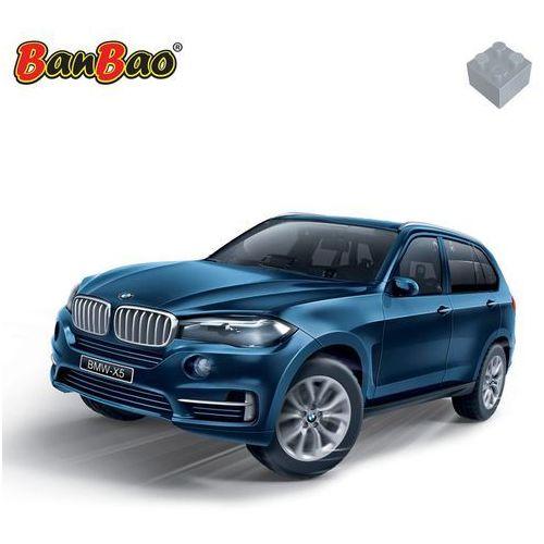 BanBao Klocki BMW X5 pull-back biały Darmowa wysyłka i zwroty