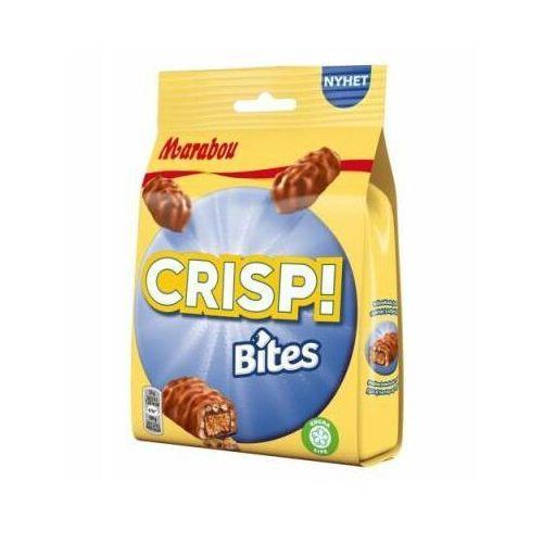 Marabou - crisp bites mini - batoniki czekoladowe z toffi i chrupkami ryżowymi - 140g - ze szwecji (7622210840202)