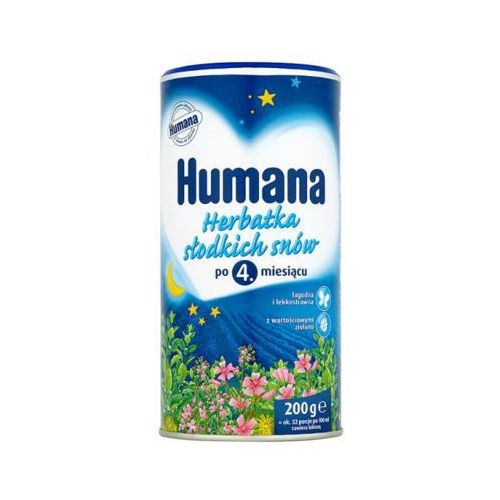 200g herbatka słodkich snów po 4 miesiącu marki Humana
