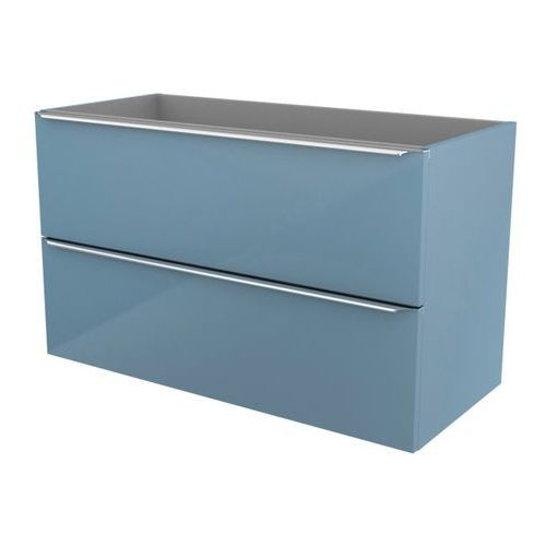 Szafka pod umywalkę imandra wisząca 100 cm niebieska marki Cooke&lewis