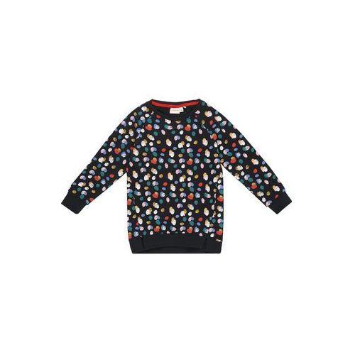Name it bluza 'nmfludot ls' ciemny niebieski / żółty / jasnoróżowy / czerwony / biały (5714486903322)
