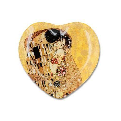 Talerz serce klimt pocałunek el-besso marki Carmani