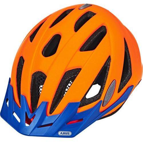 Abus urban-i v. 2 kask rowerowy pomarańczowy/niebieski l | 56-61cm 2018 kaski rowerowe (4003318203831)