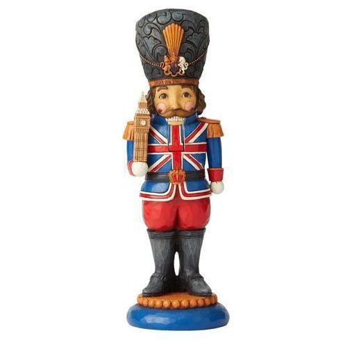 Jim shore Kolekcjonerski dziadek do orzechów london's legend (british nutcracker figurine) 6004241 figurka ozdoba świąteczna