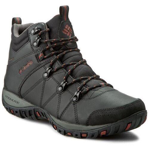 Trekkingi - peakfreak venture mid waterproof bm3991 black/sanguine 010 marki Columbia