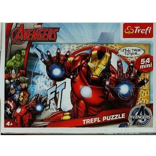 Trefl Puzzle 54 mini drużyna avengers 3