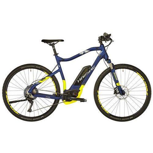 """Haibike sduro cross 7.0 rower elektryczny crossowy żółty/niebieski 56cm (28"""") 2018 rowery elektryczne"""