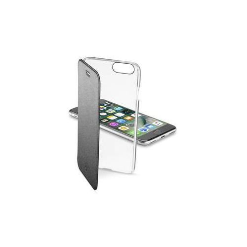 Pokrowiec na telefon clear book pro apple iphone 8/7 (clearbookiph747k) czarne marki Cellularline