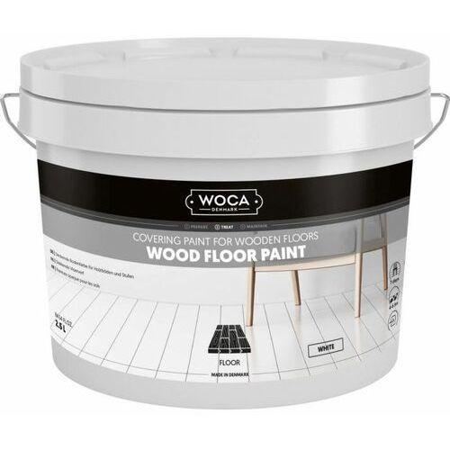 Farba do podłóg drewnianych 2,5 l biała, kolor biały