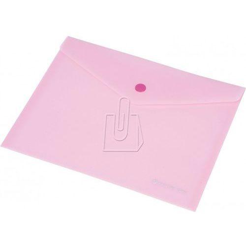 Koperta focus c4534 a5 przezroczysta różowa - 0410-0036-13 marki Panta plast