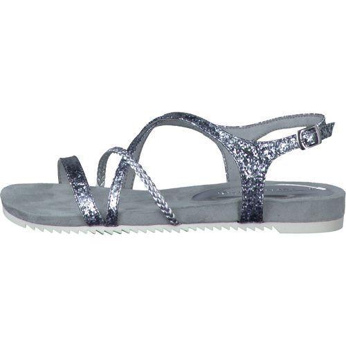 Tamaris  sandały damskie 38 srebrny