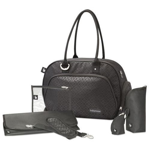 Babymoov torba na pieluchy trendy bag black (3661276147195)