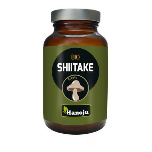 Hanoju (grzyby sproszkowane) Grzyby ekstrakt shiitake (twardnik japoński) w kapsułkach bio 320 mg (60 szt.) - hanoju