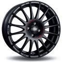 Oz Felga  superturismo gt matt black red lettering 6x14 4x108 et15