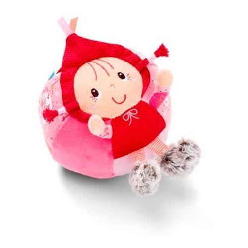 Materiałowa piłka z dzwoneczkiem - czerwony kapturek l83015 marki Lilliputiens