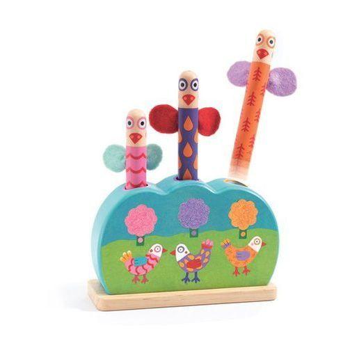 Djeco Drewniana zabawka manipulacyjna kikou wizz