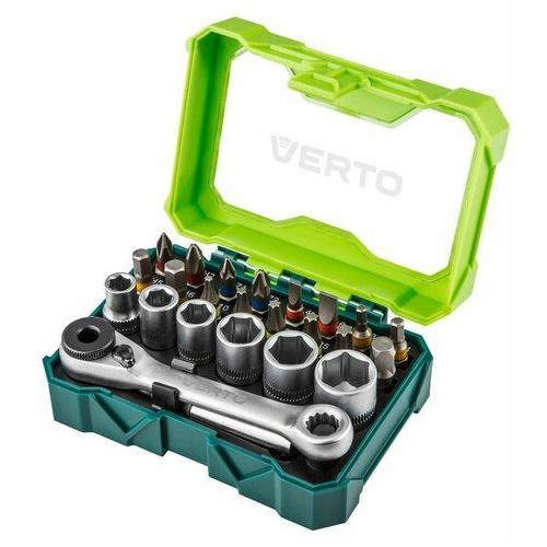 Zestaw kluczy VERTO 66H624 (23 elementy) (5902062034397)
