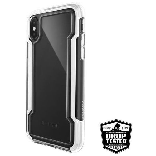X-Doria Defense Clear - Etui iPhone X (White), kolor biały