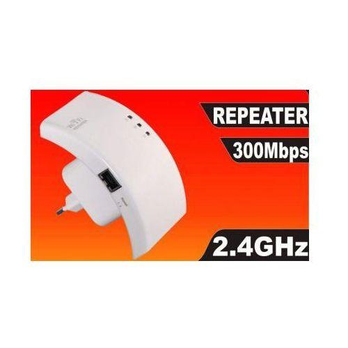 Wzmacniacz/repeater sygnału internetowego wifi/wlan 2.4ghz 300mbps. marki S.t.i. ltd.