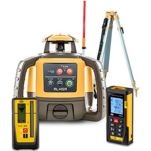 Niwelator laserowy Topcon RL-H5A Digital + statyw SJJ1 + łata LS-24 + dalmierz laserowy HDM-5