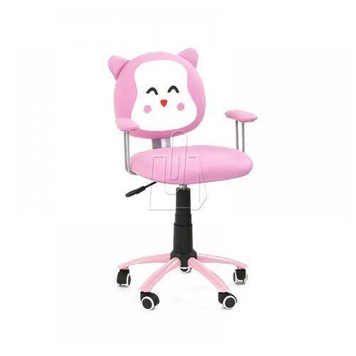 Fotel młodzieżowy halmar KITTY różowy (2010000177136)