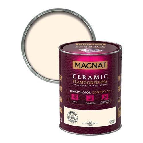 Śnieżka Farba ceramiczna magnat ceramic c2 aksamitny agat 5l (5903973153238)