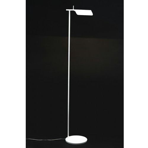 Lampa podłogowa peak biała - aluminium marki King home