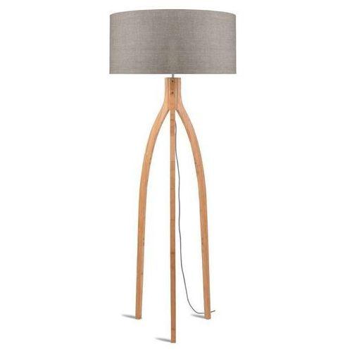 Good & mojo Annapurna-lampa podlogowa statyw bambus & len naturalny wys.160cm (8716248079020)